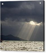 A Light In The Storm Acrylic Print