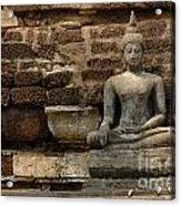 A Little Buddha Acrylic Print