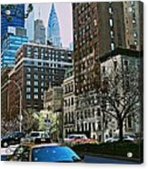A Little Slice Of New York Acrylic Print