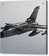 A Luftwaffe Tornado Ecr Over Northern Acrylic Print