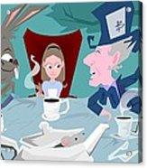'a Mad Tea Party' Acrylic Print