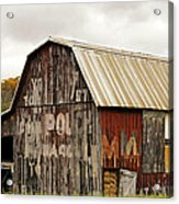 A Mail Pouch Barn In West Virginia Acrylic Print