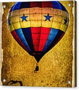 A Man And His Balloon Acrylic Print by Bob Orsillo