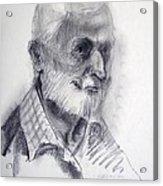 A Man Acrylic Print