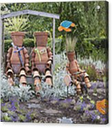 A Marine Garden Area In The Childrens Acrylic Print