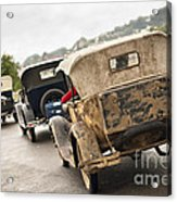 A Model Procession Acrylic Print by David Lade