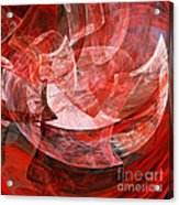 A Mothers Womb . Square . A120422.446 Acrylic Print by Wingsdomain Art and Photography