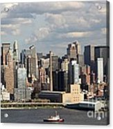 A New York City Afternoon Acrylic Print