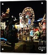 A Night At The Carnival Acrylic Print