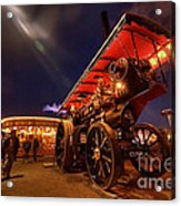 A Night Of Steam  Acrylic Print