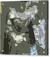 A Nightly Knight Acrylic Print