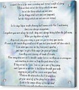 A Note Form The Pastors' Pen Acrylic Print