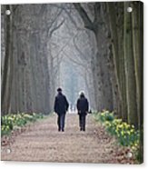 A Peaceful Stroll Acrylic Print