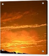 A Peeking Sunrise Acrylic Print