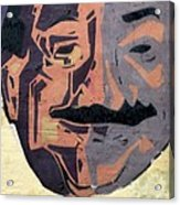 A Peeling Personality Acrylic Print