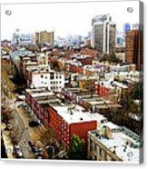 A Philadelphian View Acrylic Print