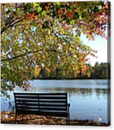 A Place For Thanks Giving Acrylic Print