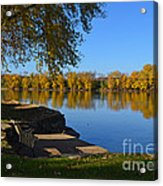 A Place To Reflect Acrylic Print