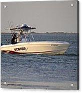 A Proper Fishing Boat Acrylic Print