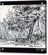 A Quiet Corner 1958 Acrylic Print by John Chatterley