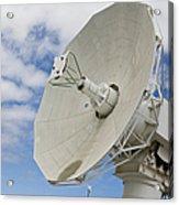 A Radar Dish Aboard Mobile At-sea Acrylic Print