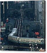 A Railway Encircles Thirty-five Blocks Acrylic Print