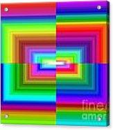 A Rainbow Is A Rainbow Is A Rainbow Acrylic Print