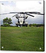 A Rh-53d Sea Stallion Helicopter Acrylic Print