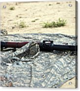 A Rocket-propelled Grenade Launcher Acrylic Print