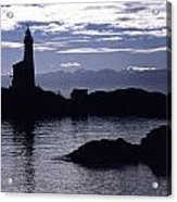 A Scenic Lighthouse Acrylic Print