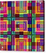 A Sense Of Squares Acrylic Print