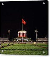 A Serene Ho Chi Minh Mausoleum Acrylic Print