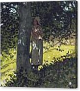 A Shady Spot Acrylic Print by Winslow Homer