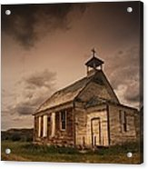 A Simple Wooden Church Acrylic Print