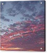 A Sky On Fire Acrylic Print