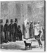 A Slave-pen At New Orleans Before Acrylic Print by Photo Researchers