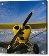 A Small Personal Aircraft Sitting Acrylic Print