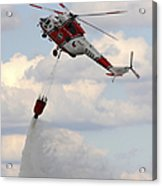 A Sokol W-3a Helicopter Of The Czech Acrylic Print