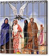 A Song For The Caged Birds Of Mauritania Acrylic Print