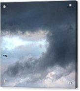A Speck In The Sky Acrylic Print