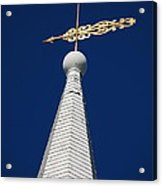 A Spire In New England II Acrylic Print