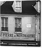 A St Pierre De Montmartre In Paris Acrylic Print