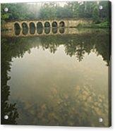 A Stone Bridge Built By The Civilian Acrylic Print