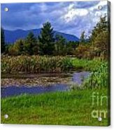 A Storm Rolls In From The West 1 Acrylic Print
