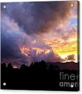 A Storm Rolls In From The West 29 Acrylic Print