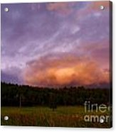 A Storm Rolls In From The West 40 Acrylic Print