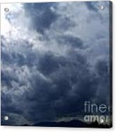 A Storm Rolls In From The West 5 Acrylic Print