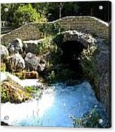 A Stream In Provence Acrylic Print
