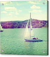 A Summer Sailing Adventure Acrylic Print