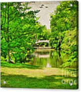 A Summer's Day Acrylic Print